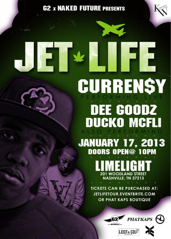 @CurrenSy_Spitta is coming too Nashville, TN January 17th!  Shout out to @phatkaps! http://t.co/AlmBP1uR