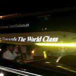 Ok, now I see in Bandra..., a bus with JET BLACK TINTED WINDOWS.. So much for the 