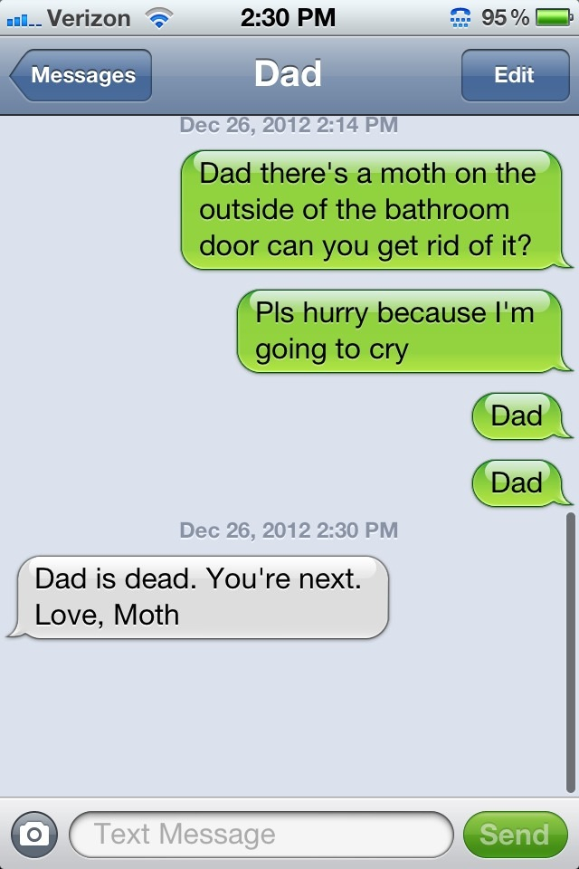 Dad is dead, love Moth. http://t.co/pWZFtQDH