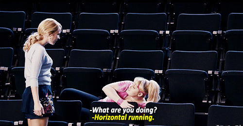 I prefer horizontal running too, Fat Amy. #itsaswimmerthing http://t.co/HUYQB7nQ