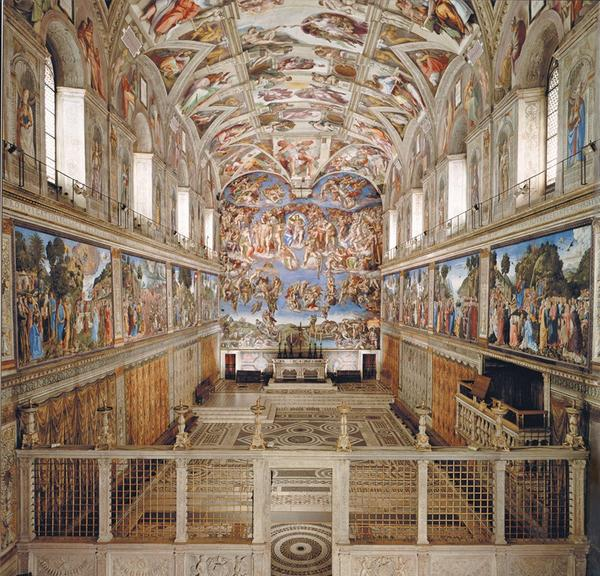 "RT @vitalbamorelli: Cappella #Sistina, Città del #Vaticano #arte sublime #bellezza ♥ #artwit #followart #twitart #pic http://t.co/Blw3bnZHd1"""