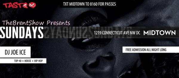 Grand opening of #MidtownSundays it's not an event you wanna miss it and it FREE ALL NIGHT!!! http://t.co/LAQh1Ddt