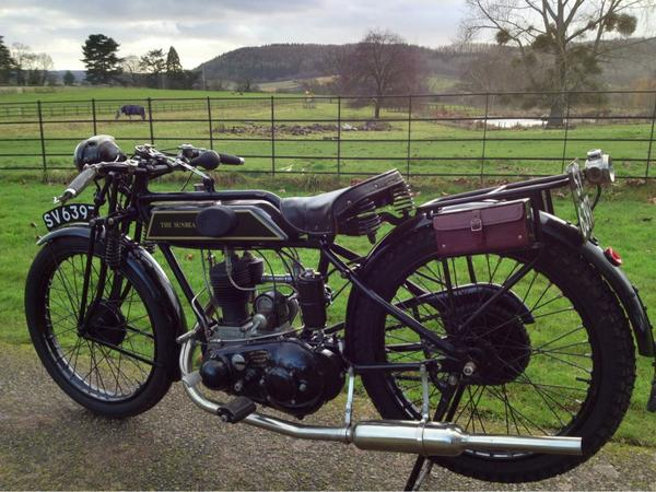 Dunno what it says about my age or prospects for 2013, but took my New Year's day ride on this. Cool ...... ...in 1927 http://t.co/fI14HFVd