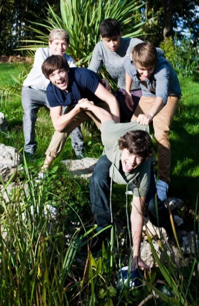 One Direction First Photo Shoot One Direction First