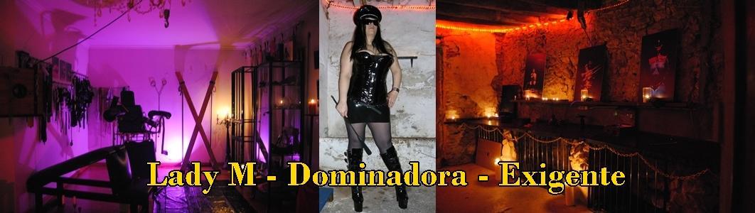 Dominadora, Lady M com Assistentes Dominantes e Submissas. Masmorra a 15 minutos de Lisboa http://t.co/0meuoyl9