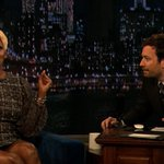 .@neneleakes spills the tea on the show tonight! Oooooo… #LateNight http://t.co/zcwJS7xg