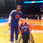 RT @nyknicks: RT @NBA RT @KingBacon_: Thanks for the love at halftime JR @TheRealJRSmith @nyknicks