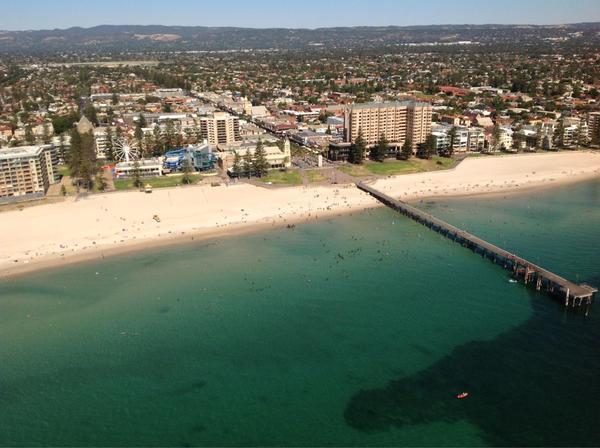 Aerial View Glenelg Beach January Th  Photo