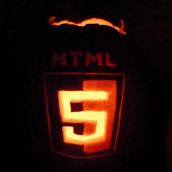 Happy Halloween HTML5 #pumpkin http://t.co/QjhLX43P