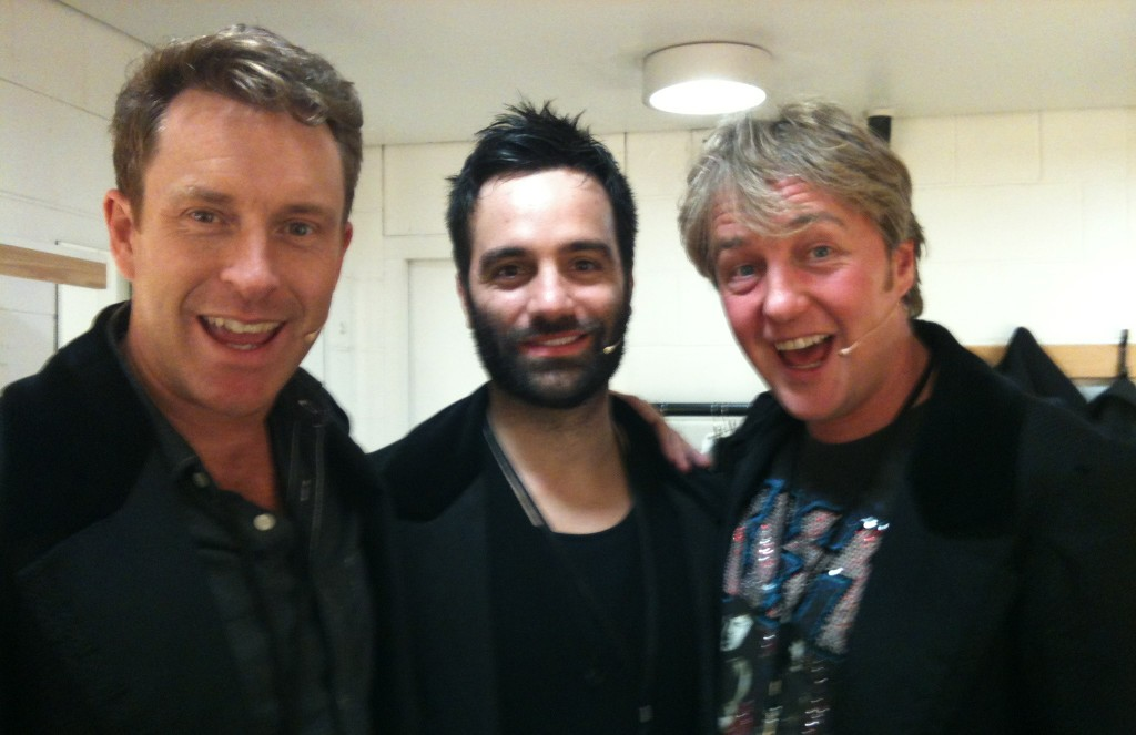 RT @johnowenjones: Who's the hairy one in the middle? RT @EarlCarpenter: ....not a bad line up... http://t.co/1OCNY79V