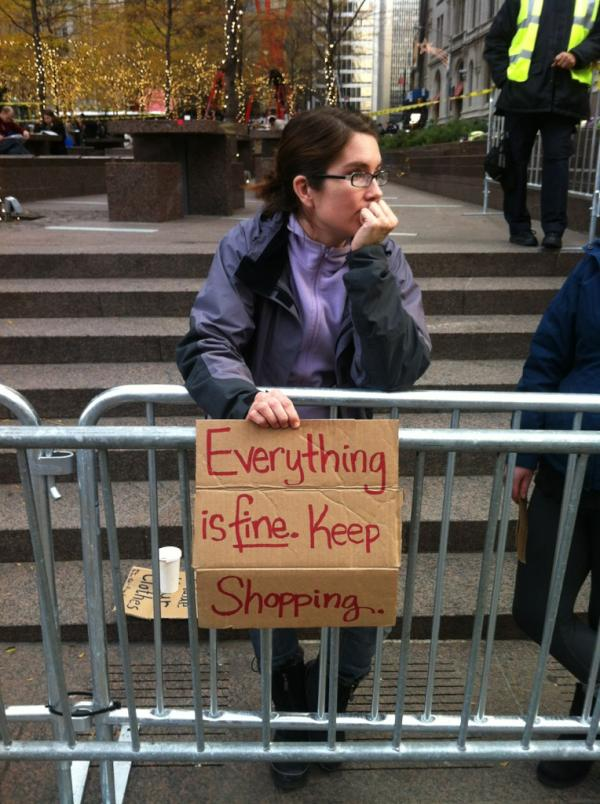 Just walked past a protestor holding this sign at Zuccotti Park -- http://t.co/gxxR5NdQ