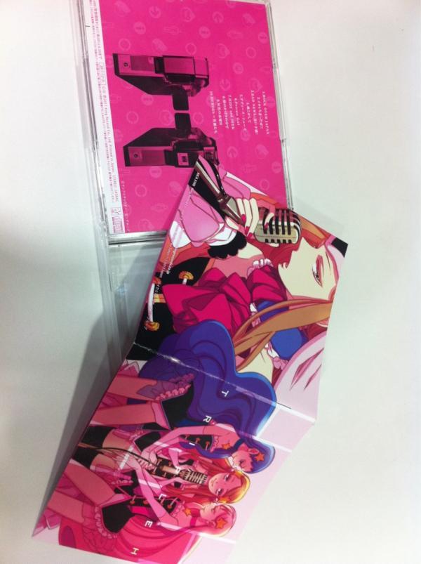 トリプルHアルバム出来ました!捨て曲なしの全10曲。21日に発売ですよー!  (池) #penguindrum http://t.co/c53XywLQ
