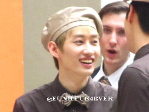 KYOCHON CF FILMING: HYUKJAE'S GUMMY SMILE http://t.co/SVhXvfd9