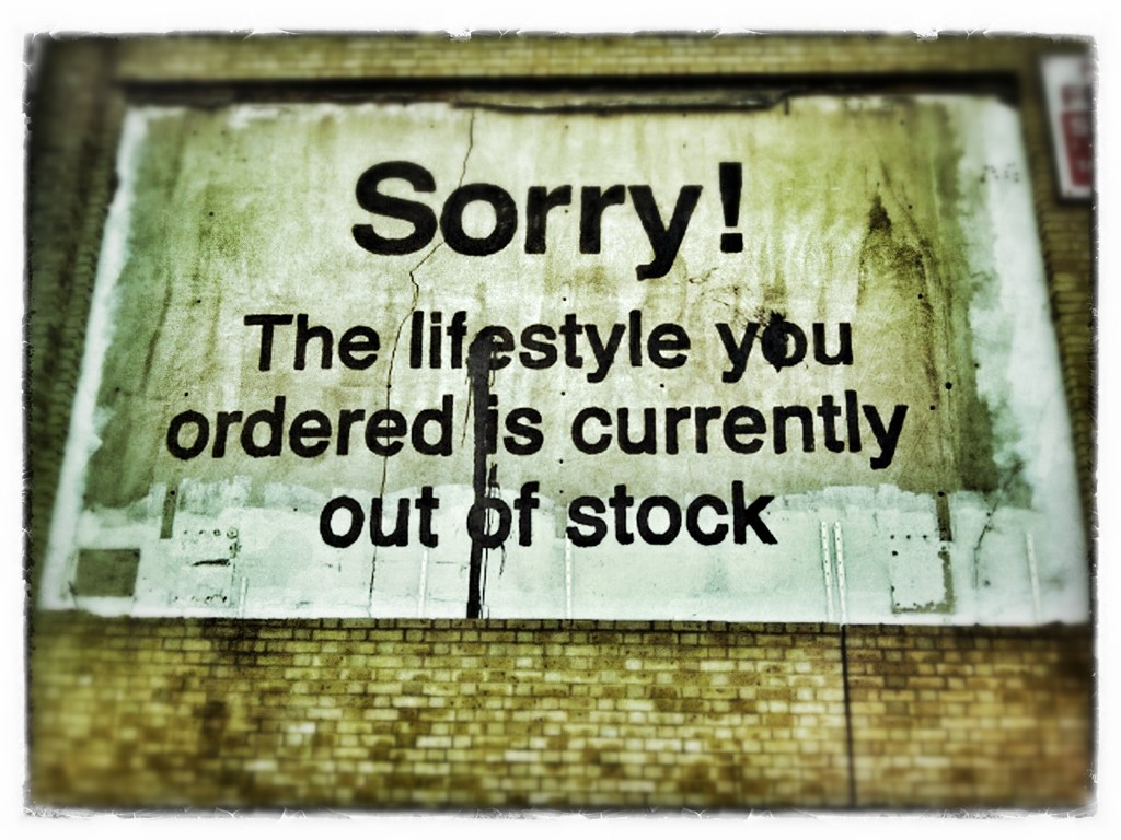 Sorry! The lifestyle you ordered is currently out of stock