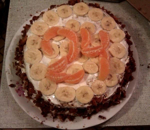 Простые тортики, рецепты и фото