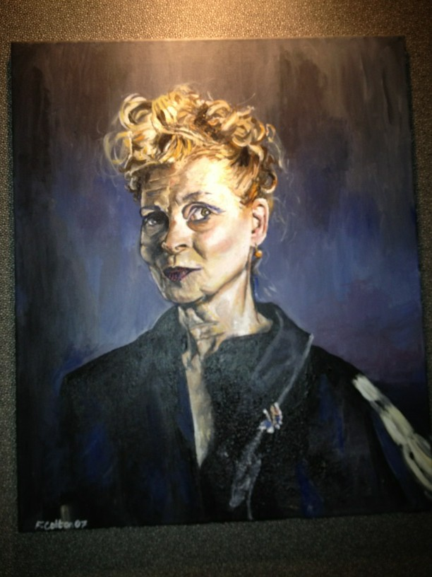 RT @Fearnecotton: This is an old painting of mine of Vivienne Westwood http://t.co/3jUyzDyb