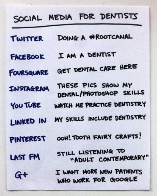 """Have you seen our """"Social Media Explained"""" for dentists? http://t.co/G44vvbRs"""