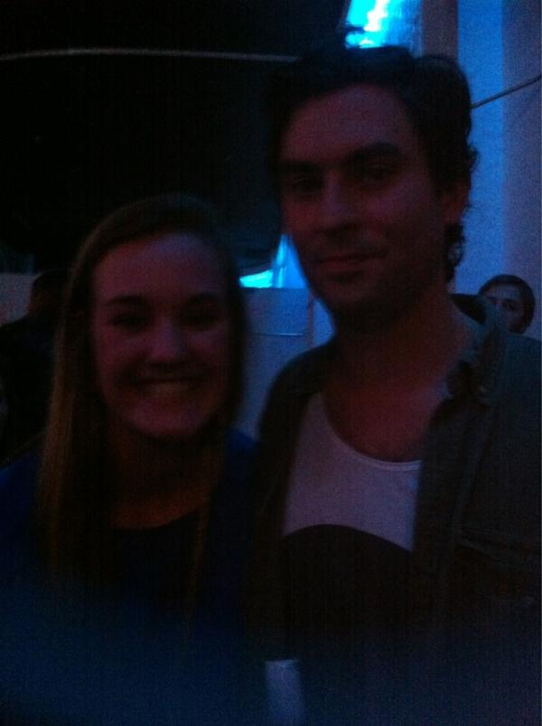It's a good night when you get a picture with the lead singer of HEAD AND THE HEART!!!!!!!! #WOOT http://t.co/uzLSsXye