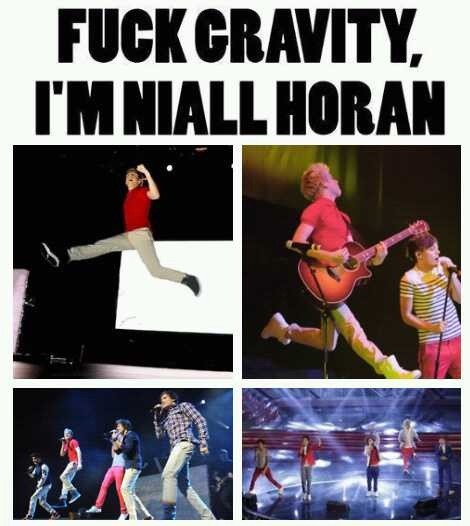 DEFINITION: Gravity: An unfamiliar thing to Niall Horan. http://t.co/unuAMP3X