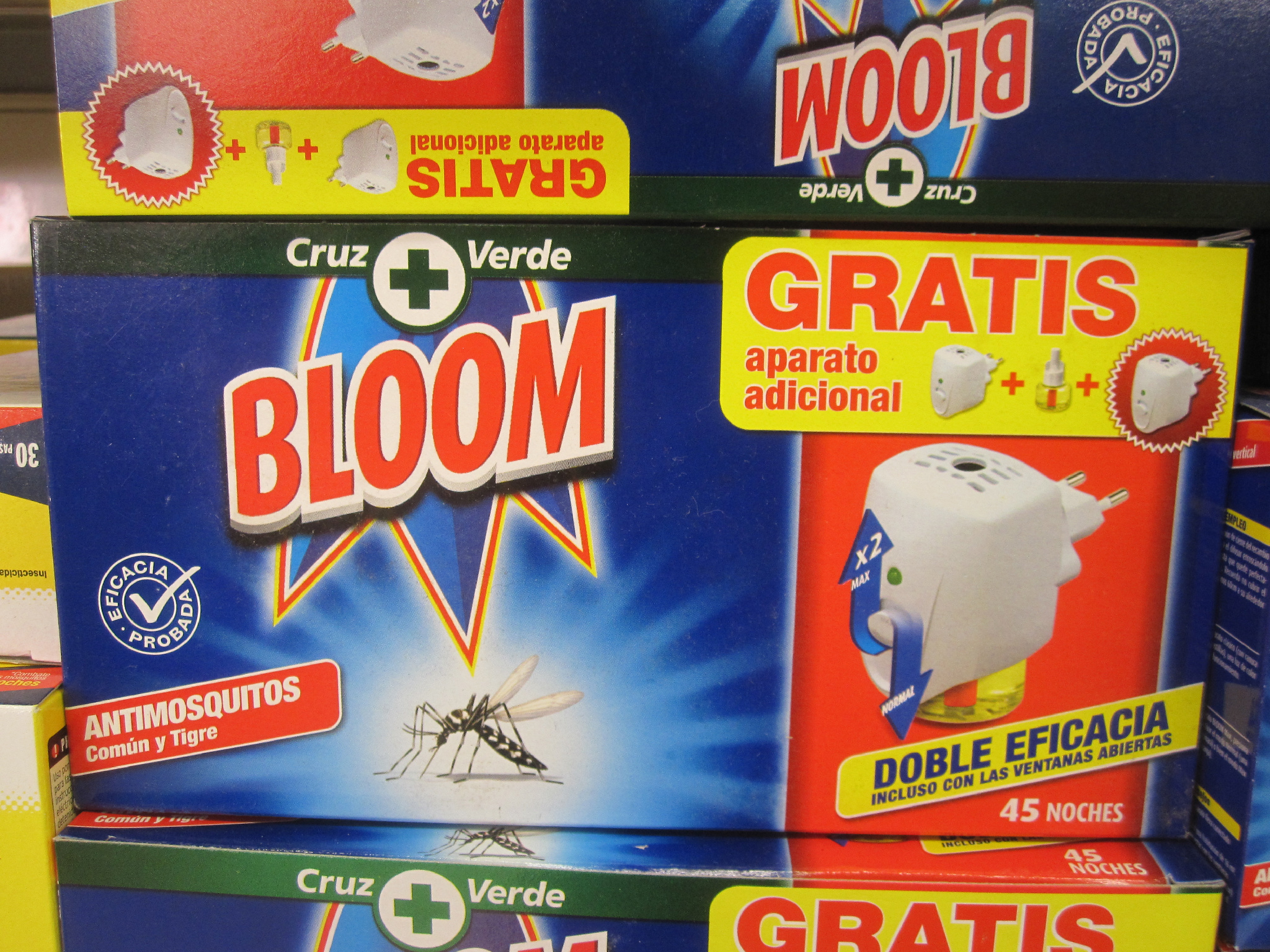 Thinking of diversifying our business interests. Bloom Mosquito repellant anyone? (Snapped by @DavidQuinn14 in Spain) http://t.co/dVpji49O