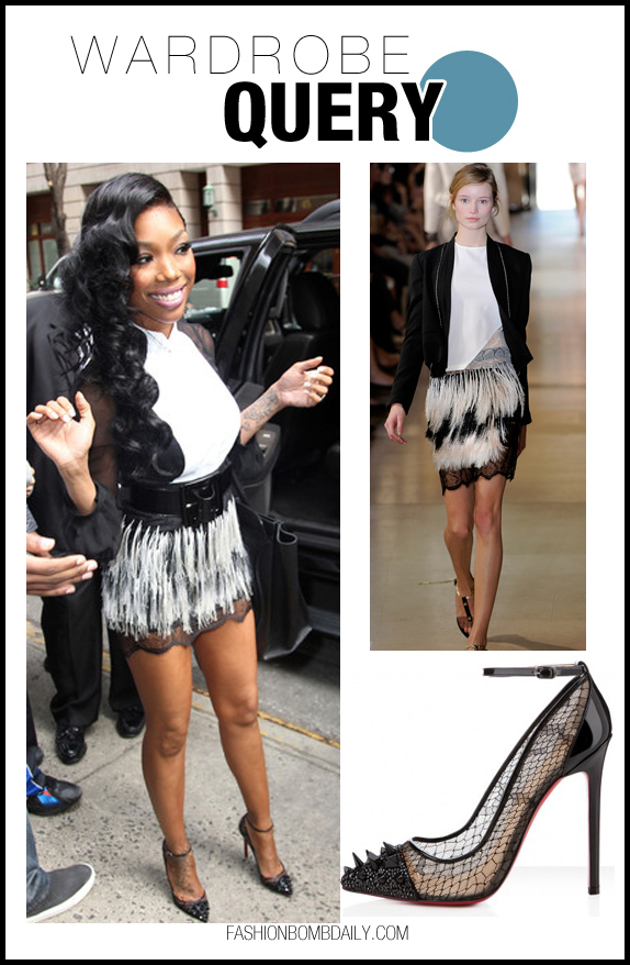 Totally obsessed with @4EverBrandy 's @LouboutinWorld Pick and Co pumps. Chic! http://t.co/8tfrtESL http://t.co/aSbeCnvJ
