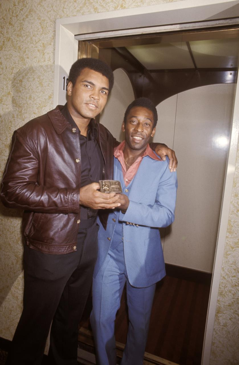 RT @Pele: Me and Ali http://t.co/S64Tlf8H