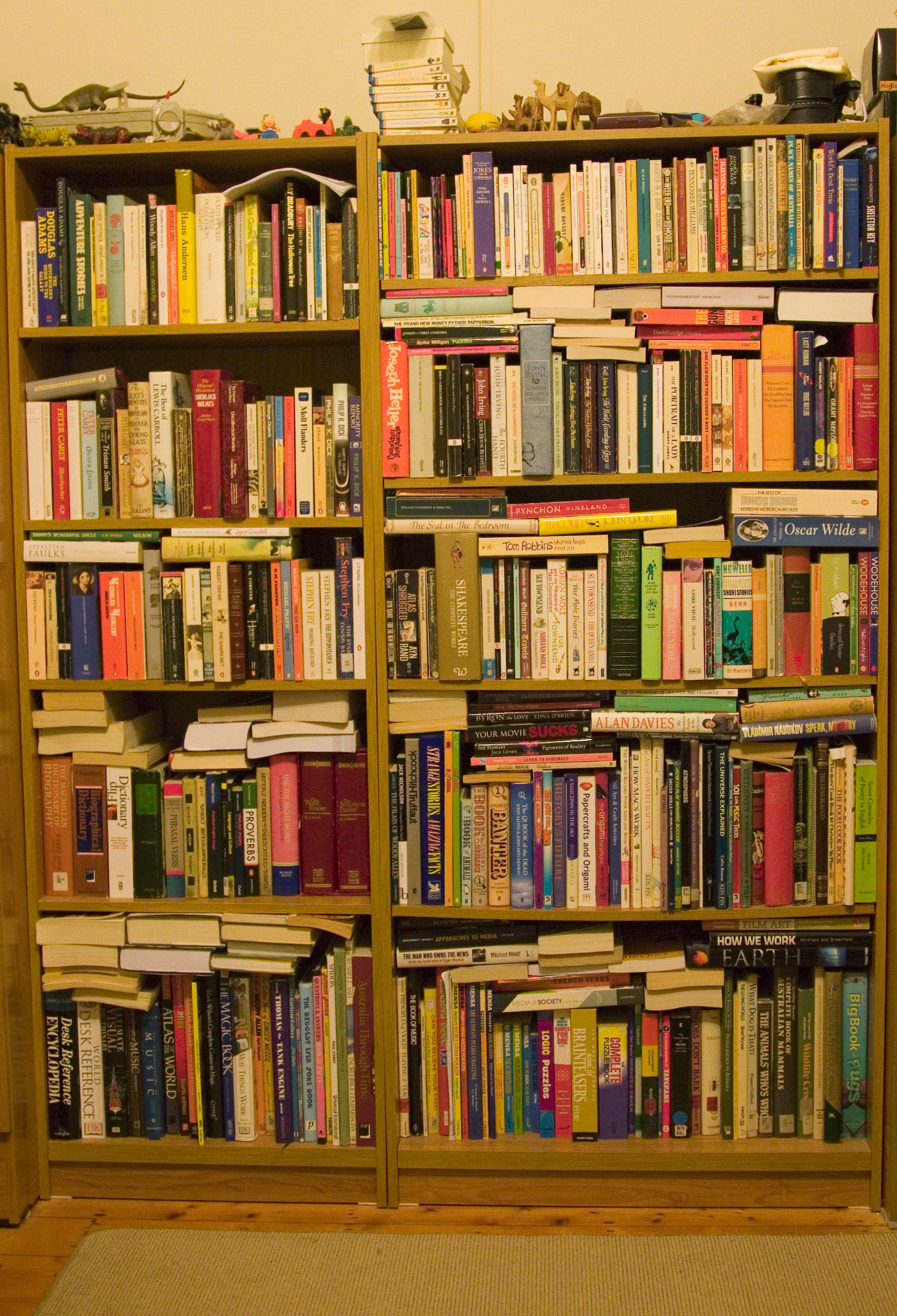 @PenguinUKBooks My shelves from approximately 1.5 years ago. Books have been rearranged/added since. http://t.co/NPMogfvN