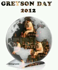 RT @GreysonMCIndo: #HappyGreysonDay2012 #WorldGreysonDay we loves you so much @greysonchance(: - @suciauliaa ?? http://t.co/hdbpVNYY
