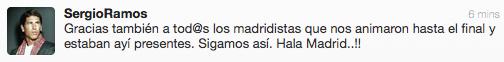 #SiNoExistieraTwitter En vez de re■rte con los tweets de Sergio Ramos, tendr■as que llourar escuch£ndolo hablar 'ay■' http://t.co/RD1UdaZ3