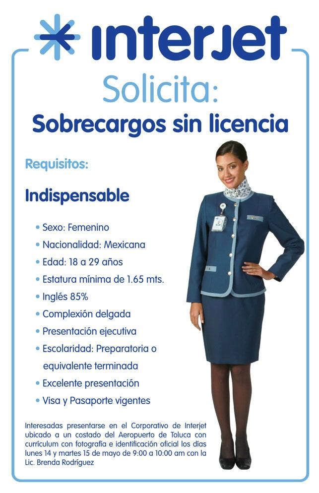 #interjet solicita #sobrecargos  aqui la convocatoria http://t.co/RuC7GKMH