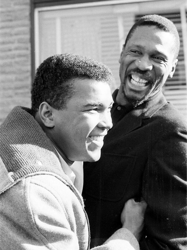 RT @si_vault: Muhammad Ali and Bill Russell crack each other up while hanging out in 1964: http://t.co/eARK7VYq