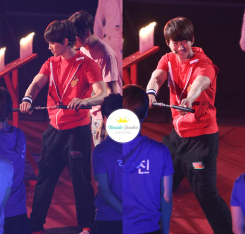 [PIC] (7) Junho at God Of Victory (cr: as tagged , via : fyjunho) http://t.co/QuCgjv6H