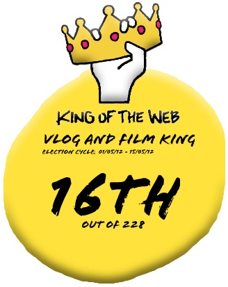 "I came 16th on the Vlog and Film King leaderboard. I'm hoping to be in the top 10 for the new comp which started today. <a class=""linkify"" href=""http://t.co/42ysWDco"" rel=""nofollow"" target=""_blank"">http://t.co/42ysWDco</a>"