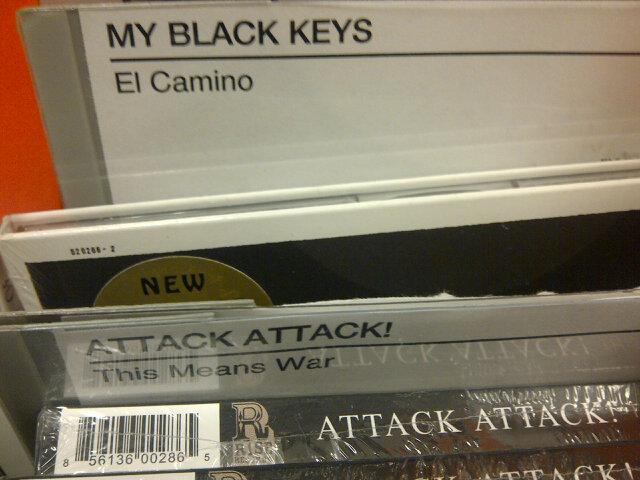 No. that is our name. RT @AlekzandriaViz: Apparently Target changed your name. What's up with that? @patrickcarney http://t.co/0qavVtt0