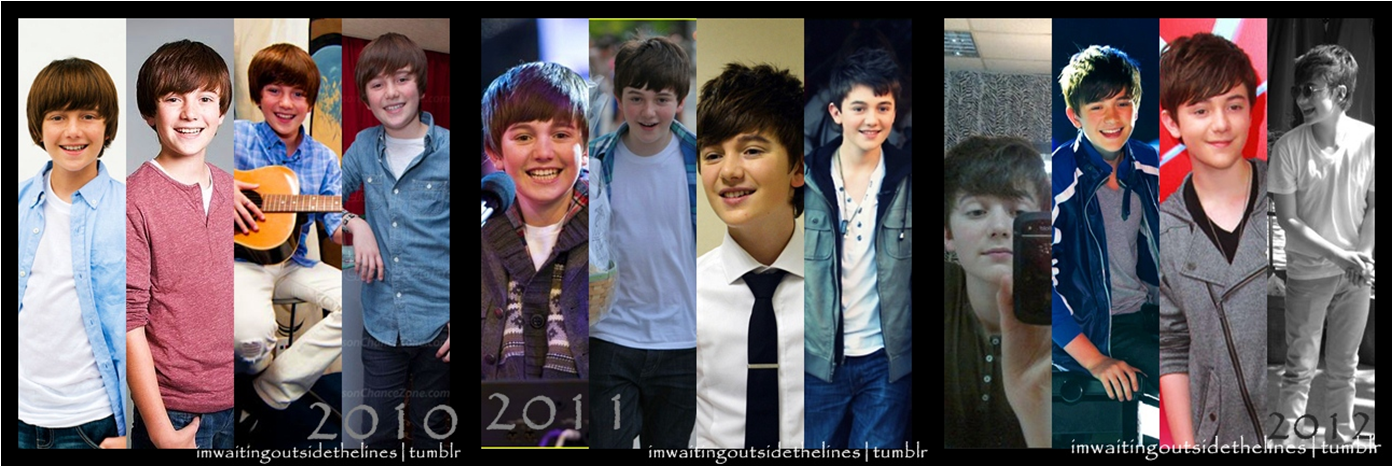 RT @Greysonfied: Our Greyson through the years. Wonderful, yea? Enchancers For Greyson. ? http://t.co/OZY5Xc5G
