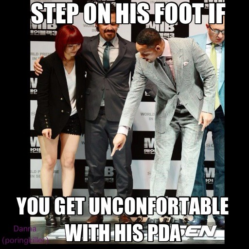 Will Smith to Sunye...xD http://t.co/XF7E9ArT