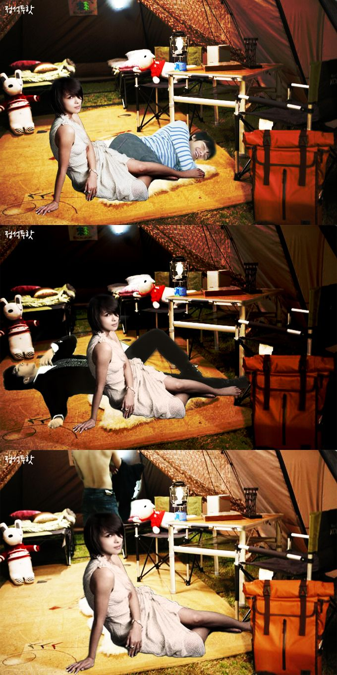 NC-17 rated? What happened in the tent: version 1, 2, or 3? LOL (credit: dctk2h) http://t.co/4cNveXWH