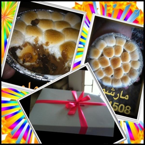 حلويات مارشملو سويت (@MaSweetMa): @WeddingPlanQ8 Marshmallow Sweet شغل كويتي ١٠٠٪ جربه مره راح تطلبه كل مره مارشملو حار  99994508