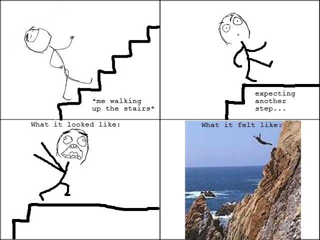 RT @JaDatDus: Bijna vanaf de trap flikkeren #DatHebIkOokAltijd http://t.co/0V8UJzxF