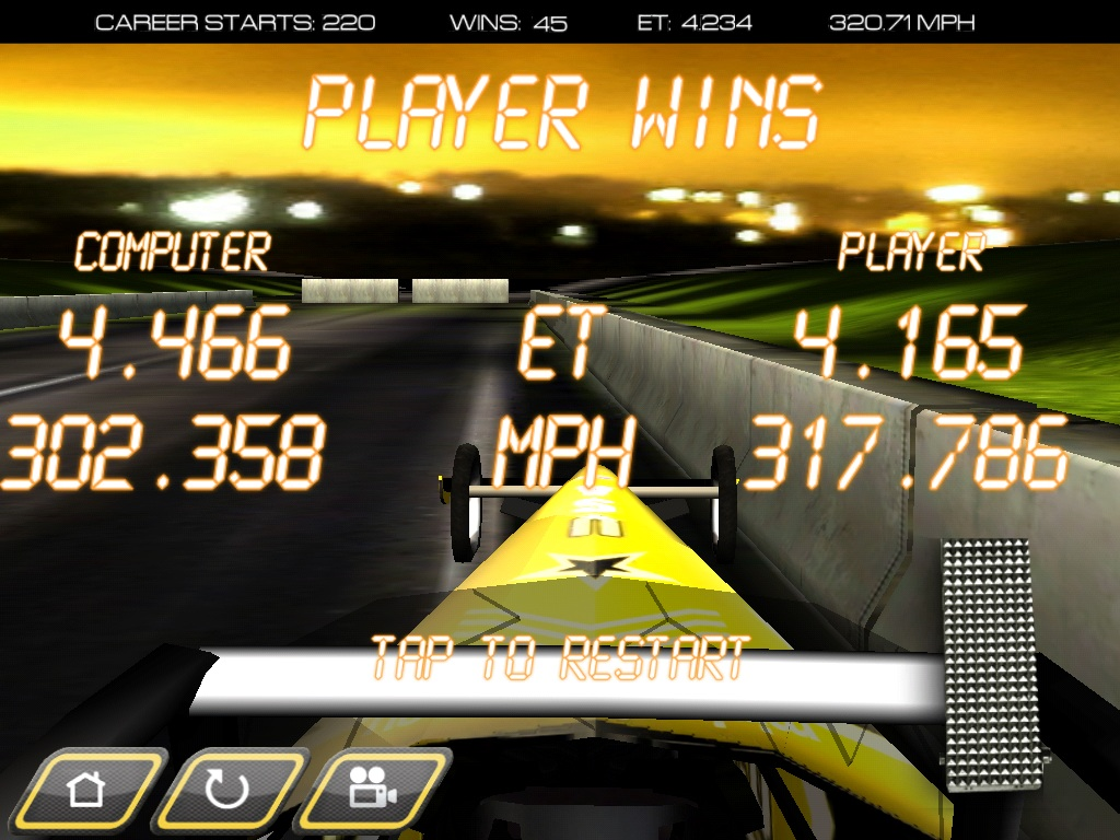 Woohoo!!! I'm getting better!!! #dragstermayhemaddict http://t.co/aONFzSkQ