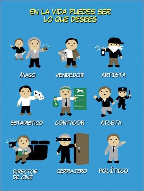 Las profesiones más populares de Argentina http://t.co/wRochBvm