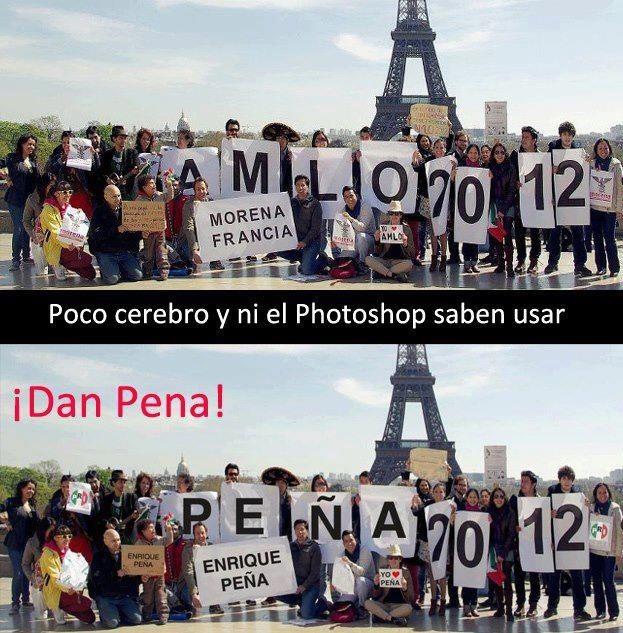 Esta denuncia de #Morena #Francia nos demuestra la desesperacin con la que esta actuando el #PRI de #EPN   #AMLO #RT http://t.co/bdT6XHCh