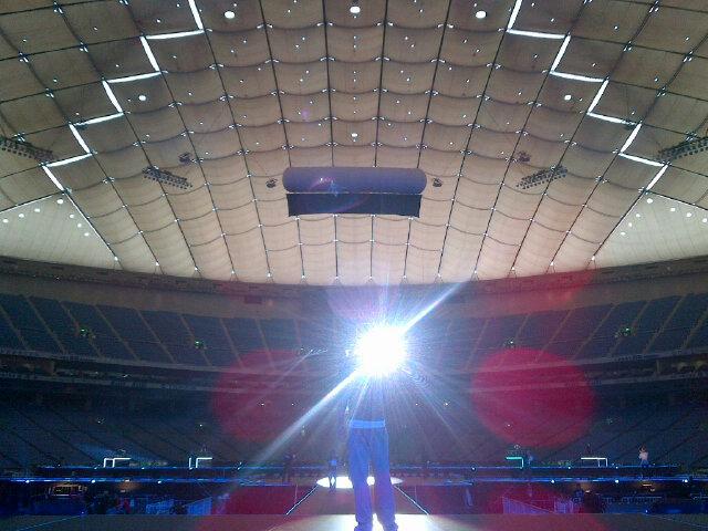 여기가 바로 도쿄돔..신난다아~!! http://t.co/ujGagxe9