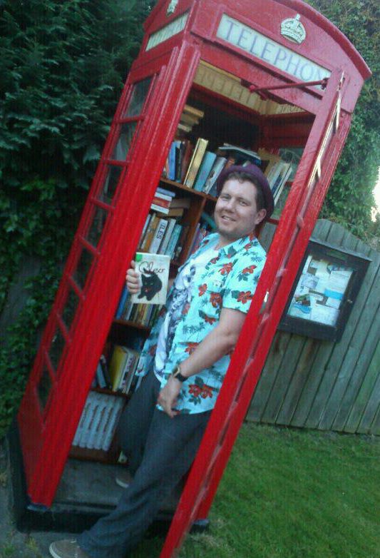 Wighill phone box is now a library! Love it :) http://t.co/frWhKYxW