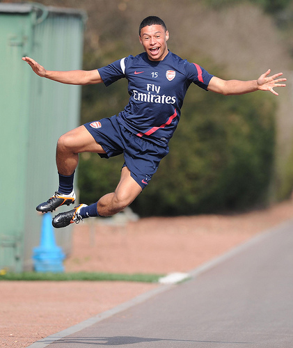 The Ox finds out he's in the England squad. http://t.co/G50ZmMYk