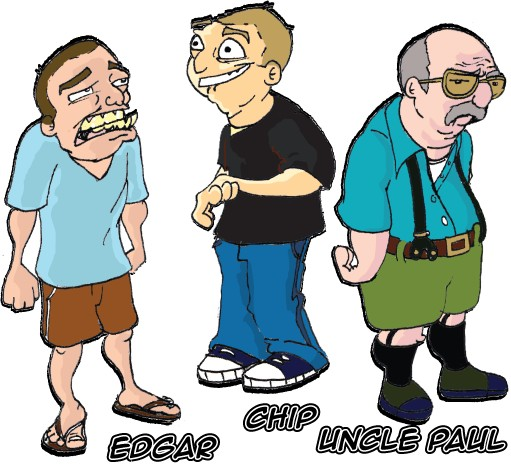 @JimNorton @OpieRadio @AnthonyCumia Animated chip Edgar and uncle Paul. http://t.co/Kdrmg9fG