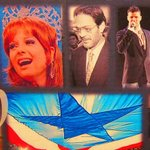 Orgullo Boricua at the Museo Las Américas in #PuertoRico; Marisol Malaret, Raúl Juliá and @Ricky_Martin http://t.co/n0qweFm3