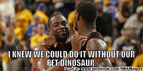 """@NBAMemes: #LeBron & #Wade http://t.co/sCsa9vRJ"" lmfaoooo"