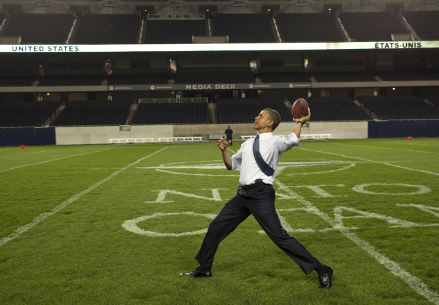 RT @madebyjane: right up there with tim riggins in my book...RT @BarackObama Clear eyes, full hearts. http://t.co/WVVuhuh5