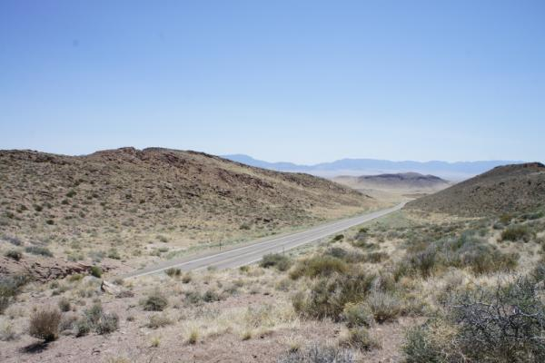 83 miles today from Baker to Milford, UT - long day made longer by headwinds but amazing scenery #acaWestExp